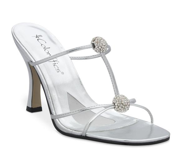 Spice - stylish silver heelzz